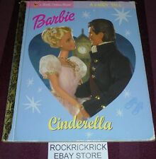 A LITTLE GOLDEN BOOK - BARBIE CINDERELLA BOOK (2002)