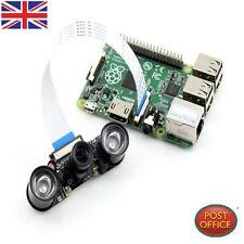 INFRAROSSI NIGHT VISION telecamera di sorveglianza +2 PC INFRAROSSI LUCE 3W FR Raspberry Pi