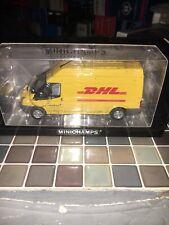 1.43 Minichamps Ford Transit 2006 Kastenwagen DHL Limited 400 085560