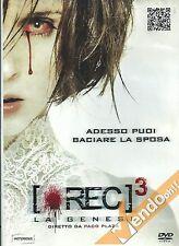 DVD REC 3 LA GENESI FILM HORROR USATO EX NOLEGGIO DA VIDEOTECA GARANTITO