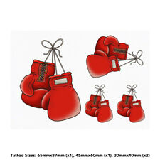'Boxing Gloves' Temporary Tattoos (TO023843)