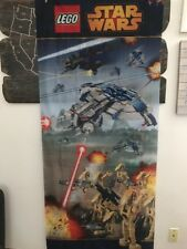 """LEGO Store Shop Display Banner New Fabric Star Wars Droids (34x80"""") US Seller"""