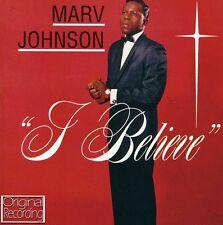 Marv Johnson - I Believe [New CD]