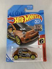 Hot Wheels - Fiat 500 Super Treasure Hunt RLC FACTORY SEALED - FREE PROTECTOR