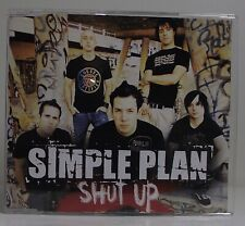 SIMPLE PLAN Shut Up CD Single Promo VG