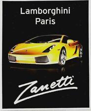 Original vintage poster LAMBORGHINI GALLARDO SPORTSCAR 2003 (2)