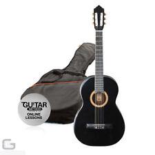 Guitares classiques noires