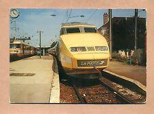 39 - JURA - TRAIN  / TGV POSTAL EN GARE DE  DÔLE  ( 1990 ) -