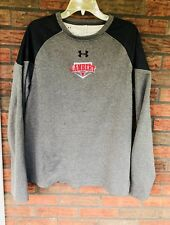 Hurley Loose Cold Gear Shirt Large Gray Black Long Sleeve Net Insulated Lambert