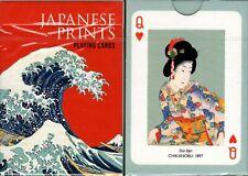 Japanese Prints Playing Cards Poker Size Deck Piatnik Custom Limited Edition New