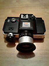 Minolta 110 Zoom SLR Film in Camera + Case
