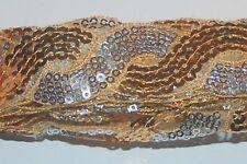 1-3 m Paillettenband 25-32 mm Band Sequin Dance glänzend Spitzenband fortlaufend