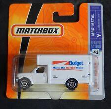 Matchbox #41 MBX Mover Budget Removals Van Boxed