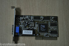 Trident Blade3D 9880 8mb A GAC02 H5F52.00 '99 AGP Video Graphics Card Working !