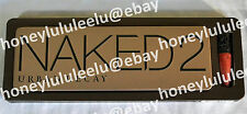 Urban Decay NAKED 2 EYESHADOW Palette Full Brush Lip Junkie New in Box Authentic