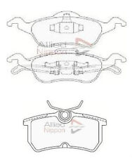 Ford Focus mk1 1.6 1.8 2.0 Front and Rear Brake Pads 1998-2004 Free Postage