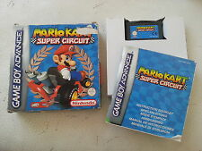 Mario Kart Super Circuits - Nintendo Gameboy Advance - GBA - PAL