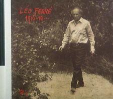 CD leo FERRE - leo chante 1916-19 Barclay