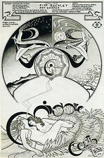 PINK FLOYD / PSYCHEDELIA Window Poster Handbill - Middle Earth 1968 reprint