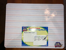Dry Erase Ruled Lap Board 9 X12 inch Lined Whiteboard Double Sided Smart Dudes