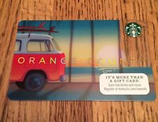 STARBUCKS Orange County and California Gift Cards NEW