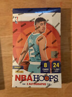4 Packs Of Panini NBA Hoops 2020-21 From A Sealed Hobby Box, 8 Card Packs
