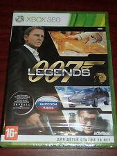 007 Legends (Microsoft Xbox 360, 2012) NEW SEALED