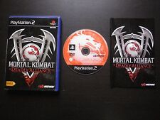 MORTAL KOMBAT DEADLY ALLIANCE : JEU Sony PLAYSTATION 2 PS2 (Midway COMPLET)
