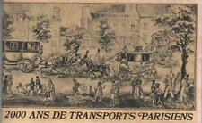 2000 Ans de Transports Parisiens Jean D. Guerdon - Selection du Reader's Digest