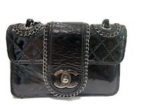 Authentic Chanel Mini Madison Flap Hand Bag