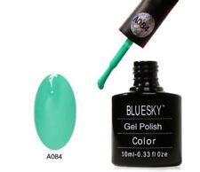 Bluesky UV LED Soak Off Nail Polish A84 Aqua Marine 10ml