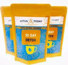 10 Day Detox Thé, perte de poids, diète, minceur, Colon Purificateur, apaisant S...