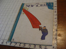 THE NEW YORKER 1931 July 25; neat cover, but a bit is cut out of page 55-56