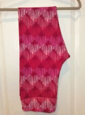 412b6033c454e7 Lularoe TC NEW valentines leggings red pink hearts stripe