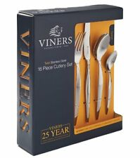 Viners TWIST 16 piece CUTLERY SET Stainless Steel 18/0 BOXED