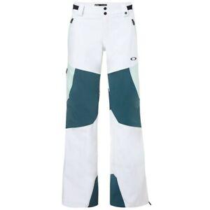 OAKLEY snowboard ski Phoenix 2.0 Shell 3l 15k Pant womens Med NEW w/tags White
