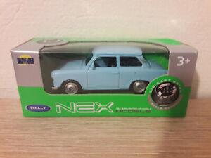 Welly NEX Trabant 601, Blue, No. 52325 - 1:64 1/64 1:60 1/60