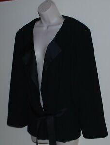 Jane Lamerton plus size black jacket Size 20