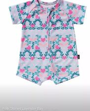 Bonds Zip Wondersuit Folk Stories Lavender Bay Size 0 *BNWT*. 10 Items = $5 Post