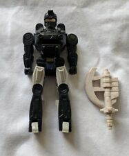 Vintage Transformers G1 Pretenders Figure - Waverider Robot and Axe Weapon Acces