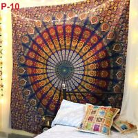 Mandala Tapestry Indian Wall Hanging Decor Bohemian Hippie Queen Bedspread