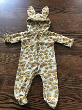 Unisex Baby Kate Quinn Animal Ear Romper - Size 0-3 Months