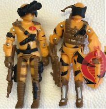 GI Joe Vintage style 1989 Night viper + 1989 style Alley viper custom lot of 2