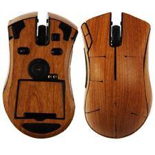 Skinomi Light Wood Full Body Gaming Mouse Protector Cover Skin for Razer Mamba