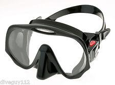 Atomic Frameless UltraClear Dive Mask for FreeDiving Scuba Snorkeling Regular BK