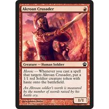 4x MTG Akroan Crusader NM - Theros