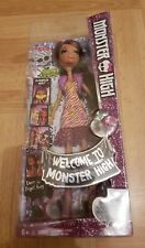 Monster High Clawdeen Wolf Doll / Welcome To Monster High - RARE Version / New.