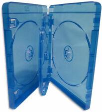 20-Pak 4-DISC 22mm Blu-ray Case with Swinging Tray & Silver Blu-ray Logo