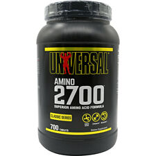 Universal Nutrition Amino 2700 - 700 Tablets - 2000mg of amino acids per pill