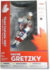 "Wayne Gretzky McFarlane Legends 12"" Figure Team 1987 Canada White Chase Variant"